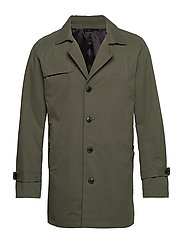 SLHTIMES TRENCH COAT B - FOREST NIGHT