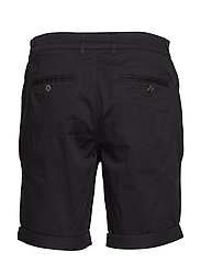 Selected Homme - SLHSTRAIGHT-PARIS SHORTS W NOOS - chino's shorts - black - 1