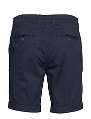 Selected Homme - SLHSTRAIGHT-PARIS SHORTS W NOOS - spodenki chinos - dark sapphire - 1