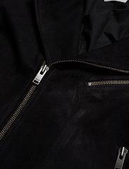 Selected Homme - SLH B-02 BIKER SUEDE JKT W - lederjacken - black - 3