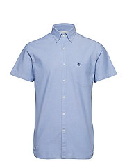 SLHREGCOLLECT SHIRT SS W NOOS - LIGHT BLUE
