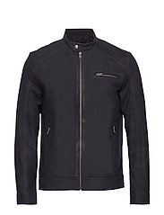 SLH C-01 CLASSIC SUEDE JACKET W - BLACK