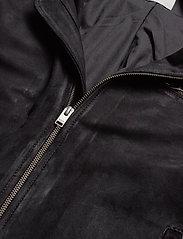 Selected Homme - SLH C-01 CLASSIC SUEDE JACKET W - nahkatakit - black - 2