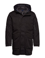 SLHIKE TECH PARKA B - BLACK