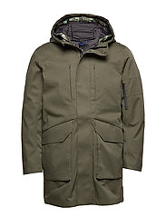 SLHIKE TECH PARKA B - FOREST NIGHT