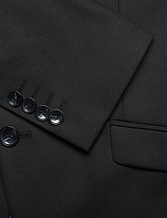 Selected Homme - SLHSLIM-MYLOSTATE FLEX BLACK BLZ B - single breasted blazers - black - 3