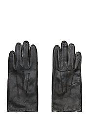 SLHMARTIN LEATHER GLOVE B - BLACK
