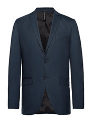 Selected Homme - SLHSLIM-MYLOSTATE FLEX DK BL BLZ B - blazers met enkele rij knopen - dark blue - 0