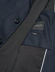 Selected Homme - SLHSLIM-MYLOSTATE FLEX DK BL BLZ B - blazers met enkele rij knopen - dark blue - 4