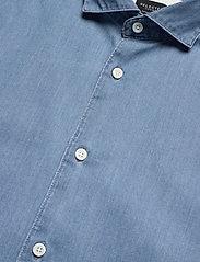 Selected Homme - SLHREGSEL-NOOR SHIRT LS B NOOS - podstawowe koszulki - medium blue denim - 3