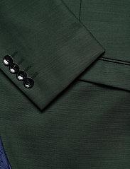 Selected Homme - SLHSLIM-MYLOSTATE FLEX GREEN BLZ B - single breasted blazers - dark green - 3