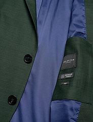 Selected Homme - SLHSLIM-MYLOSTATE FLEX GREEN BLZ B - single breasted blazers - dark green - 4