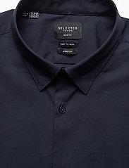 Selected Homme - SLHSLIMMICHIGAN SHIRT LS B NOOS - basic skjorter - navy blazer - 2