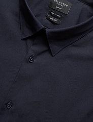 Selected Homme - SLHSLIMMICHIGAN SHIRT LS B NOOS - basic skjorter - navy blazer - 3