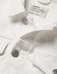 Selected Homme - SLHJEPPE 6221 OP WHITE ST DENIM JACKET W - denim jackets - white denim - 3