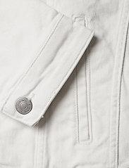 Selected Homme - SLHJEPPE 6221 OP WHITE ST DENIM JACKET W - denim jackets - white denim - 4
