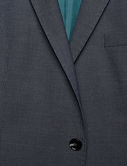 Selected Homme - SLHSLIM-MAZELOGAN BLUE STRUC BLZ B - single breasted blazers - medium blue melange - 2