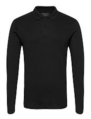 SLHPARIS LS POLO B NOOS - BLACK