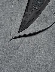 Selected Homme - SLHHAGEN  WOOL COAT B - wollen mantels - grey melange - 3