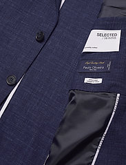 Selected Homme - SLHSLIM-OASISLUELZ - single breasted blazers - estate blue - 4
