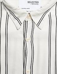 Selected Homme - SLHRELAXBELORG SHIRT SS G - geruite overhemden - bright white - 2