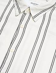 Selected Homme - SLHRELAXBELORG SHIRT SS G - geruite overhemden - bright white - 3