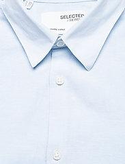 Selected Homme - SLHSLIMNEW-LINEN SHIRT LS CLASSIC W - koszule w kratkę - skyway - 2