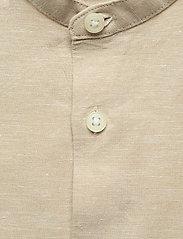 Selected Homme - SLHSLIMNEW-LINEN SHIRT LS CHINA W - chemises à carreaux - crockery - 2