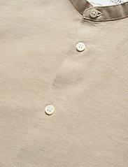 Selected Homme - SLHSLIMNEW-LINEN SHIRT LS CHINA W - chemises à carreaux - crockery - 3