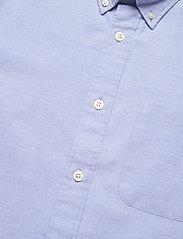 Selected Homme - SLHREGRICK-OX FLEX SHIRT SS S - chemises à carreaux - light blue - 3
