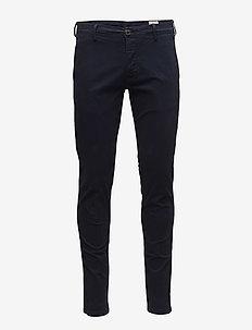 SLHSKINNY-LUCA NAVY PANTS W NOOS - chinos - navy blazer