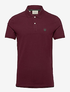 SHDARO SS EMBROIDERY POLO NOOS - korte mouwen - port royale