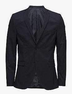 SLHSLIM-MYLOLOGAN NAVY BLAZER B - single breasted blazers - navy blazer