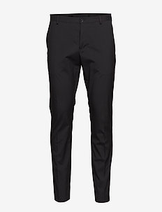 SLHSLIM-MYLOLOGAN BLACK TROUSER B NOOS - suitbukser - black