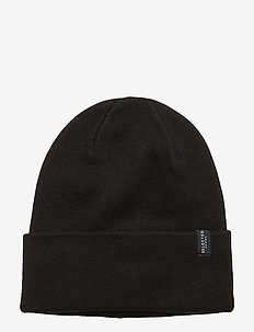 SLHLETH COTTON BEANIE W - BLACK
