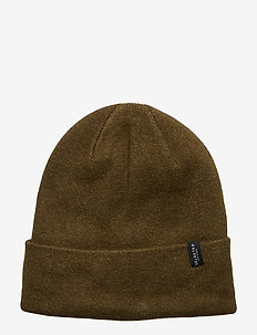 SLHLETH COTTON BEANIE W - OLIVE NIGHT