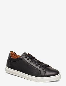 SLHDAVID SNEAKER W NOOS - lave sneakers - black