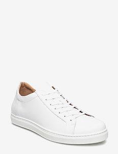 SLHDAVID SNEAKER W NOOS - lave sneakers - white