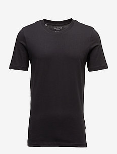 SLHTHEPERFECT SS O-NECK TEE B NOOS - short-sleeved t-shirts - black