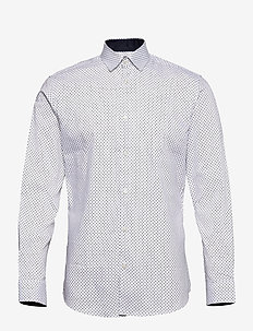 SLHSLIMNEW-MARK SHIRT LS B NOOS - business shirts - white
