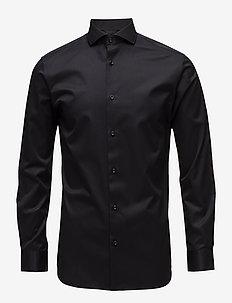 SLHSLIMSEL-PELLE SHIRT LS B NOOS - business shirts - black