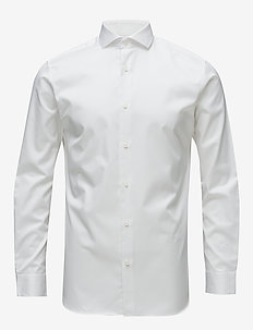 SLHSLIMSEL-PELLE SHIRT LS B NOOS - business shirts - bright white