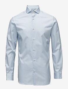 SLHSLIMSEL-PELLE SHIRT LS B NOOS - business shirts - light blue