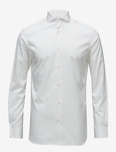 SLHREGSEL-PELLE SHIRT LS B NOOS - business skjorter - bright white
