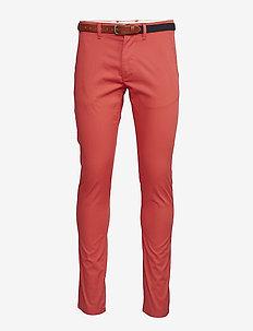 SHHYARD CHRYSANTHEMUM SLIM ST PANTS - casual trousers - chrysanthemum