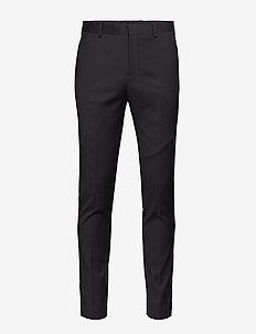 SLHSLIM-MYLOBILL BLACK TRS B NOOS - dressbukser - black