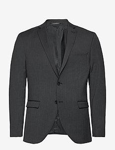 SLHSLIM-MYLOBILL GREY BLZ B NOOS - enkeltkneppede blazere - grey