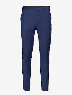 SLHSLIM-MYLOBILL BLUE TRS B NOOS - suit trousers - blue depths