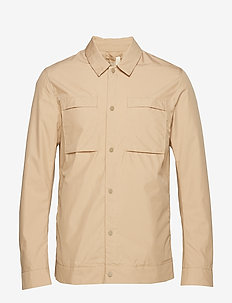 SLHICON SHIRT JKT W - overshirts - cornstalk