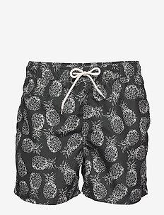SLHCLASSIC AOP SWIMSHORTS W - shorts de bain - black